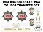 BSA B34 Transfer and Decal Sets